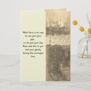 Custom Sympathy Cards